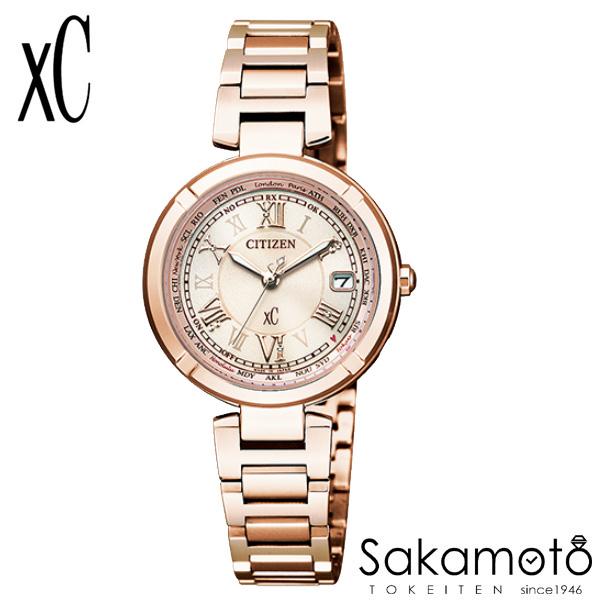 国内正規品 CITIZEN シチズン xC クロスシー 腕時計 ウォッチ 女性用 婦人用 レディース【EC1115-59W】
