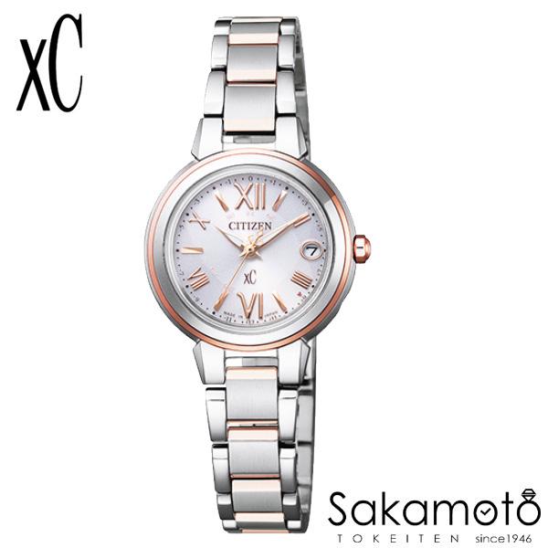 国内正規品 CITIZEN シチズン xC クロスシー 腕時計 ウォッチ 女性用 婦人用 レディース【ES9434-53W】