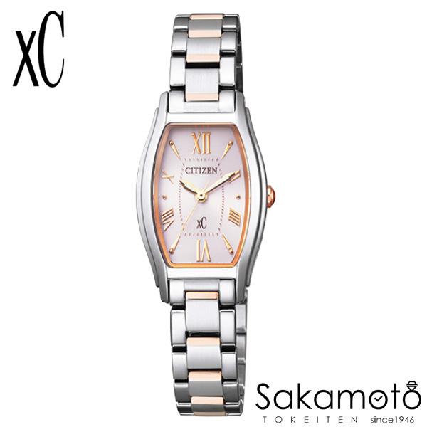 国内正規品 CITIZEN シチズン xC クロスシー 腕時計 ウォッチ 女性用 婦人用 レディース【EW5544-51W】