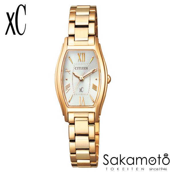 国内正規品 CITIZEN シチズン xC クロスシー 腕時計 ウォッチ 女性用 婦人用 レディース【EW5542-57A】