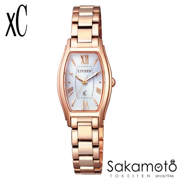 国内正規品 CITIZEN シチズン xC クロスシー 腕時計 ウォッチ 女性用 婦人用 レディース【EW5543-54A】