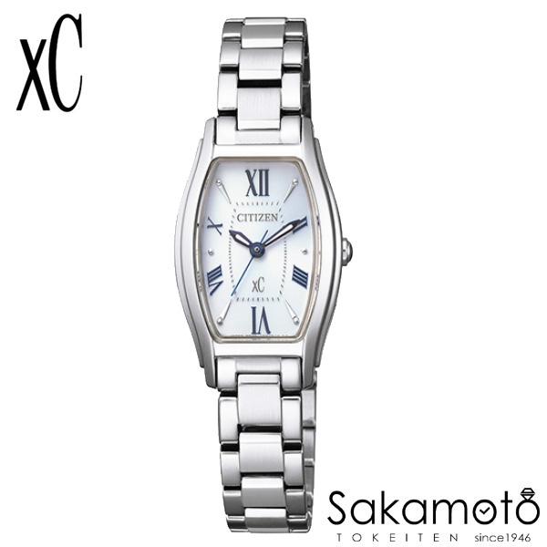 国内正規品 CITIZEN シチズン xC クロスシー 腕時計 ウォッチ 女性用 婦人用 レディース【EW5540-52A】