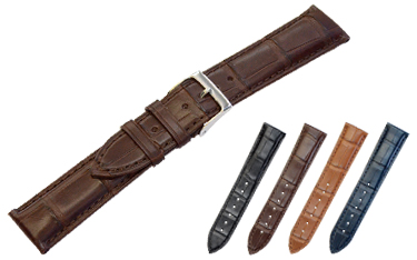 腕時計バンド ADONARA アドナラ u0000a70 マットアリゲーター ワニ革 シンセティックレザー【送料無料】