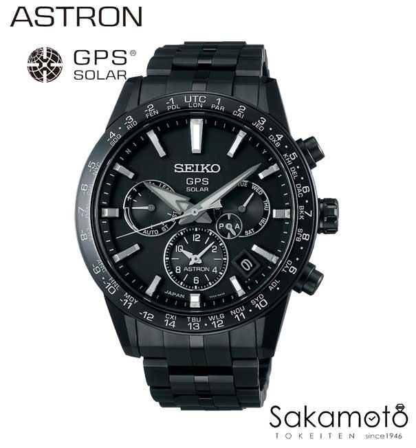 【年越しクーポン発行中】【正規品】SEIKO【セイコー】ASTRON【アストロン】GPSソーラーウォッチ 「5Xシリーズ」オールブラック チタンモデル【SBXC037】