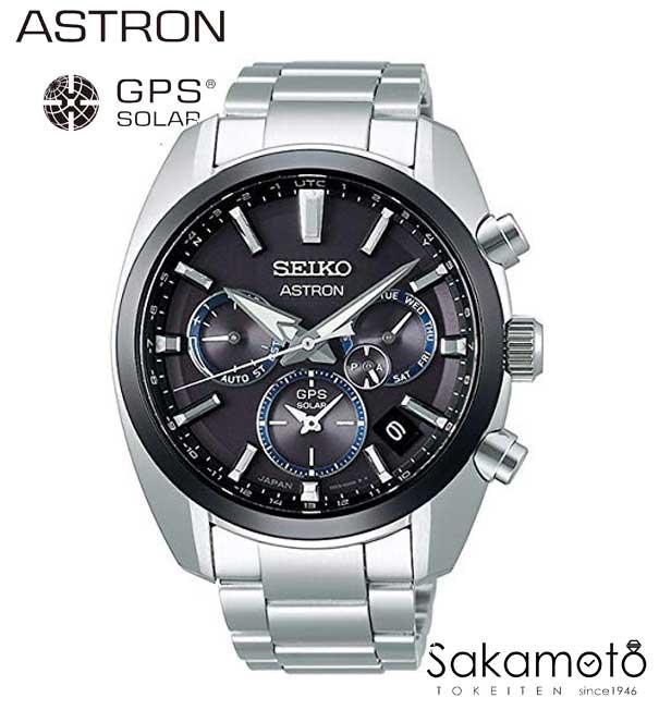 【2月8日発売】【正規品】SEIKO【セイコー】ASTRON【アストロン】【ブラック文字盤】GPSソーラーウォッチ 「5Xシリーズ」ステンレスモデル【sbxc053】