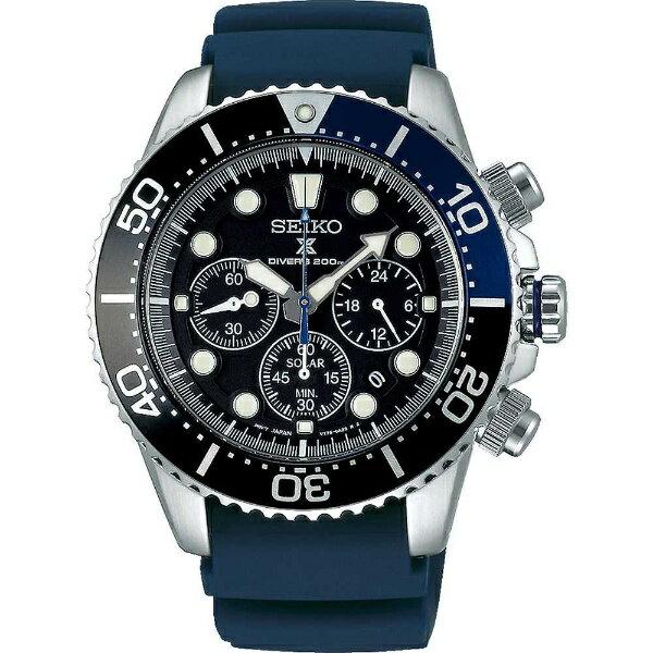 【】正規品SEIKO(セイコー)PROSPEX(プロスペックス) ダイバースキューバ  200m防水 ダイバーズウォッチ ソーラー 腕時計 メンズ【SBDL049】