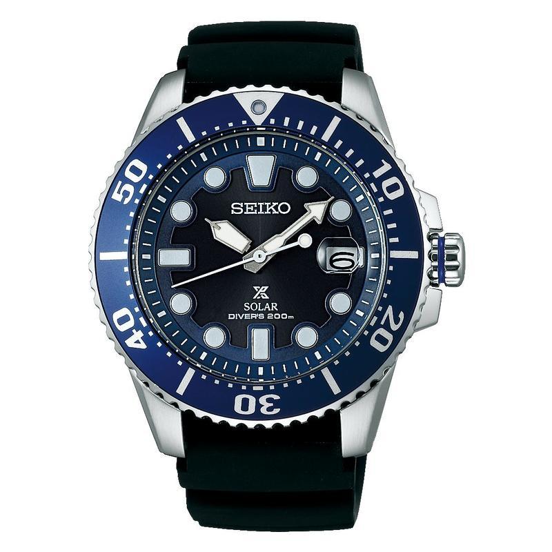 【】SEIKO(セイコー)PROSPEX(プロスペックス) ダイバースキューバ  200m防水 ダイバーズウォッチ ソーラー 腕時計 メンズ【SBDJ019】