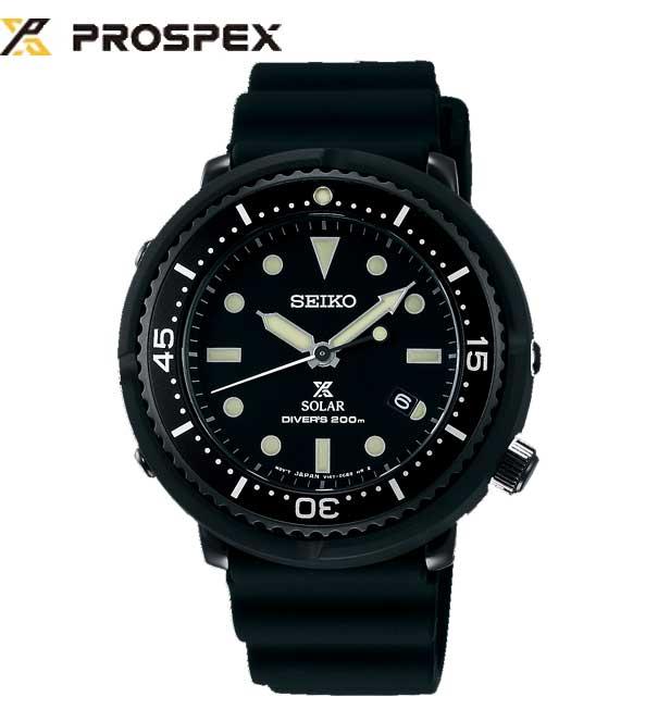 【】国内正規品SEIKO(セイコー)PROSPEX(プロスペックス)ダイバースキューバ LOWERCASEプロデュースモデル ダイバーズウォッチ ソーラー 腕時計 ボーイズサイズ【STBR025】