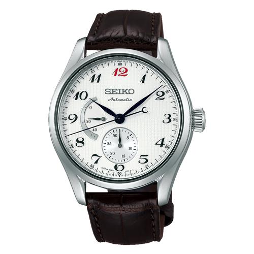 正規品セイコーSEIKO プレサージュ【PRESAGE】プレステージライン 国産初の腕時計「ローレル」の意匠を現代に再現 自動巻き パワーリザーブインジケーター 白文字盤 SARW025