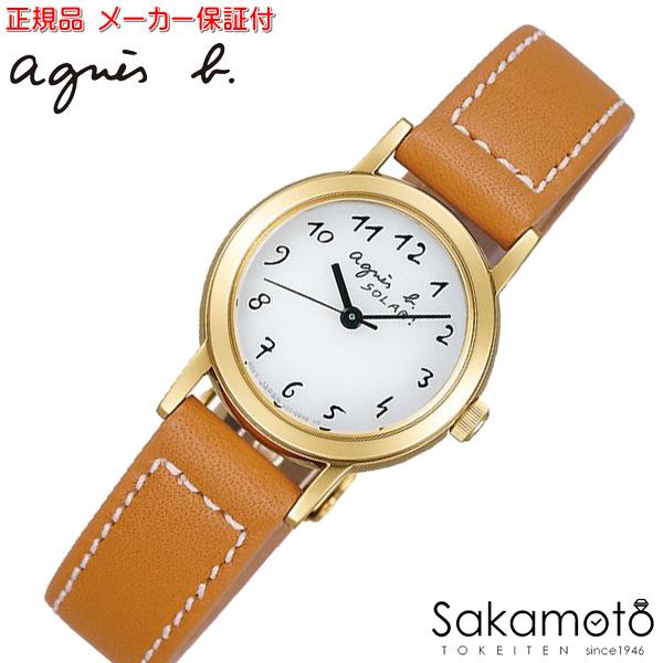 国内正規品アニエスベー【agnes b.】【MARCELLO!】腕時計 ソーラー 電池交換不要 レディース 女性用【FBSD980】