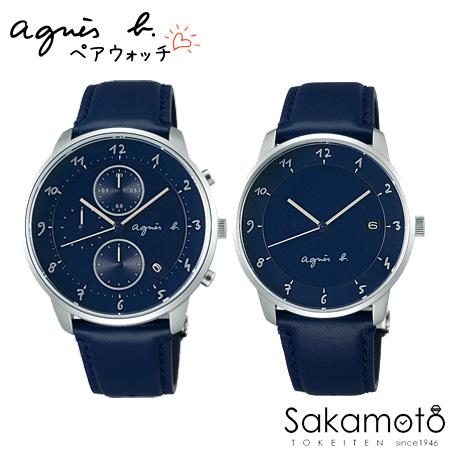 国内正規品アニエスベー【agnes b.】【MARCELLO!】腕時計 電池式クオーツ ペアウォッチ カップル【2本の価格です】【FBRW990&FBRK999】