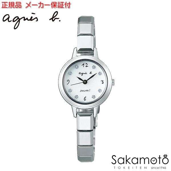 【スーパーSALEクーポンあり】国内正規品アニエスベー【agnes b.】【MARCELLO!】腕時計 ソーラー 電池交換不要 女性用 レディース 日本製【FBSD951】
