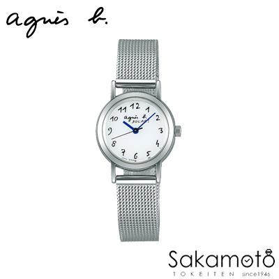 国内正規品アニエスベー【agnes b.】【MARCELLO!】腕時計 ソーラー 電池交換不要 レディース 女性用【FBSD944】