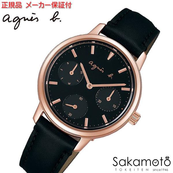 国内正規品アニエスベー【agnes b.】【SAM】腕時計 クオーツ レディース 女性用【FCST990】
