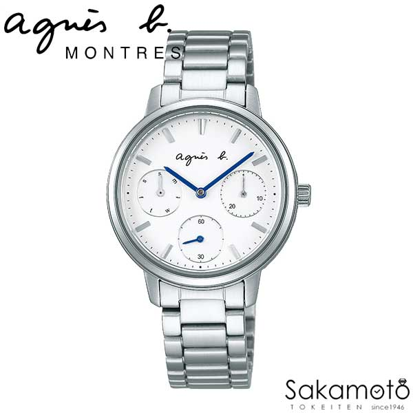 国内正規品アニエスベー【agnes b.】【SAM】腕時計 クオーツ レディース 女性用【FCST991】
