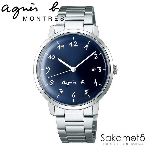 国内正規品アニエスベー【agnes b.】【MARCELLO!】腕時計 クオーツ 男性用 メンズ【FCRK990】