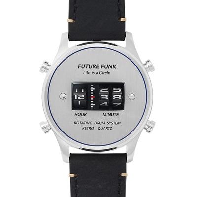 国内正規品【FUTURE FUNK (フューチャー ファンク】【FF102-SVBU-LBK】アナログデジタルウォッチ【プレゼントや記念で刻印可能】
