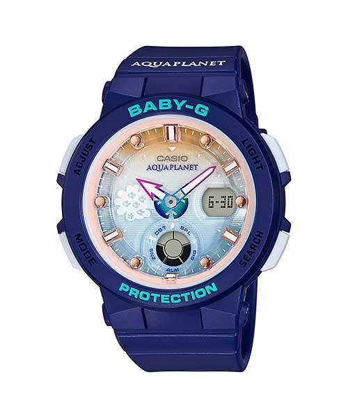 【あす楽】国内正規品【限定】Baby-G ベビーG レディース 腕時計 アクアプラネット BGA-250AP-2AJR【2018 新作】 【文字刻印も可能】【BGA-250AP-2AJR】AL