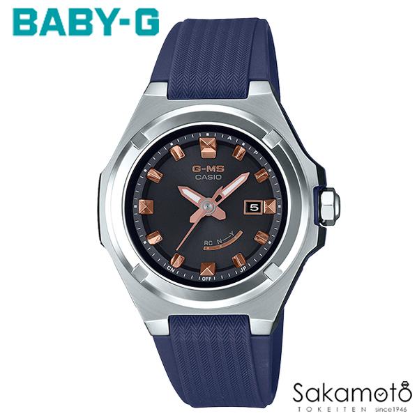 国内正規品カシオ Baby-G 【G-MS(ジーミズ)】女性らしい小型デザインと日常で活躍する機能が頼もしいNewモデル ブルーラバーベルト レディース腕時計 女性用【MSG-W300-2AJF】
