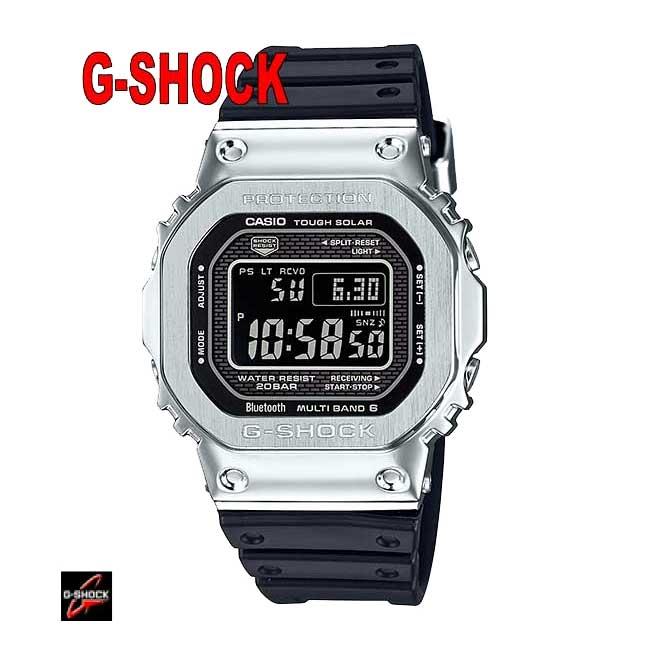 ☆正規品 カシオ【Gショック】【G-SHOCK】 腕時計 、「外装の進化」「構造の進化」「モジュールの進化」をコ ンセプトに、ケースのフルメタル化を実現し、Connectedエンジンを搭載GMW-B5000-1JF】