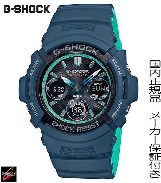 【2018.11発売】国内正規品G-SHOCK「Gショック」【AWG-M100SCC-2AJF】AL