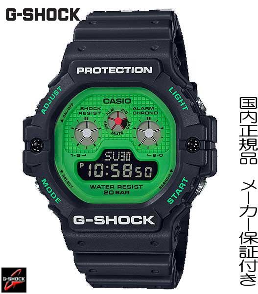 【2019.05発売】国内正規品G-SHOCK「Gショック」夏にぴったりな発色のNewカラーモデル「Hot Rock Sounds【DW-5900RS-1JF】