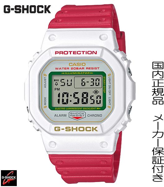 【あす楽】【2020年1月発売】国内正規品 CASIO G-SHOCK 日本の縁起物として海外でも広く知られている『招き猫』をデザインモチーフにしたNewモデル「MANEKINEKO」 ホワイト【DW-5600TMN-7JR】AL