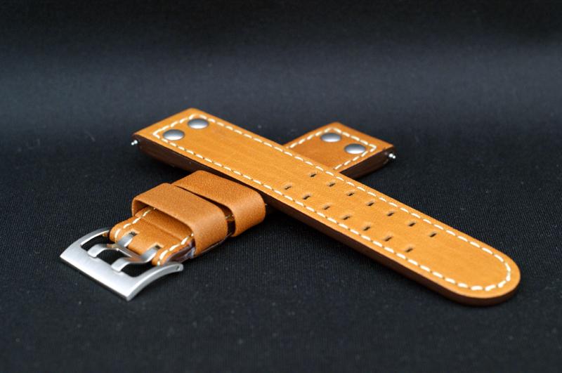 正規品ハミルトン 純正ベルト カーキXウィンドウH77616533用 茶色 純正ストラップ H600.776.103