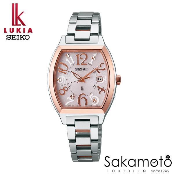 国内正規品 SEIKO セイコー LUKIA ルキア ウォッチ 腕時計 ソーラー電波 女性用 婦人用 レディース【SSVW048】