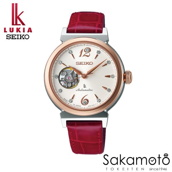 国内正規品 SEIKO セイコー LUKIA ルキア ウォッチ 腕時計 メカニカル 女性用 婦人用 レディース【SSVM012】