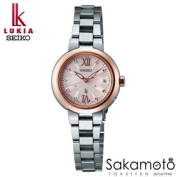 国内正規品 SEIKO セイコー LUKIA ルキア ウォッチ 腕時計 ソーラー電波 女性用 婦人用 レディース【SSVW068】AE