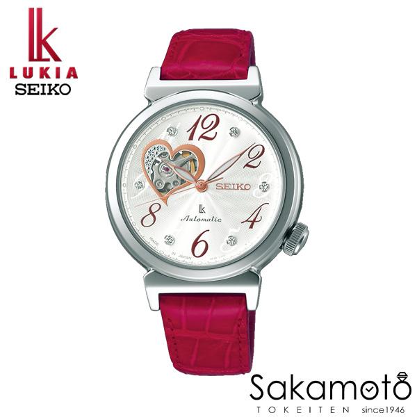 国内正規品 SEIKO セイコー LUKIA ルキア ウォッチ 腕時計 メカニカル 女性用 婦人用 レディース【SSVM023】
