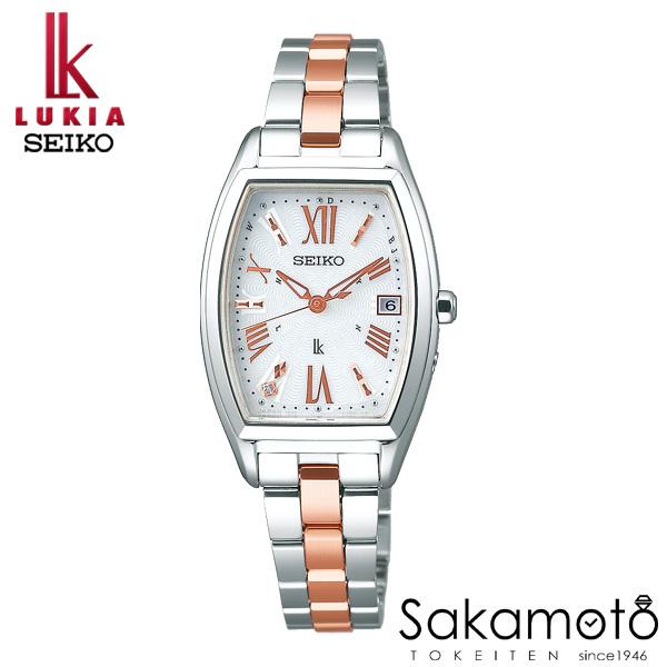 国内正規品 SEIKO セイコー LUKIA ルキア ウォッチ 腕時計 ソーラー電波 女性用 婦人用 レディース【SSVW117】