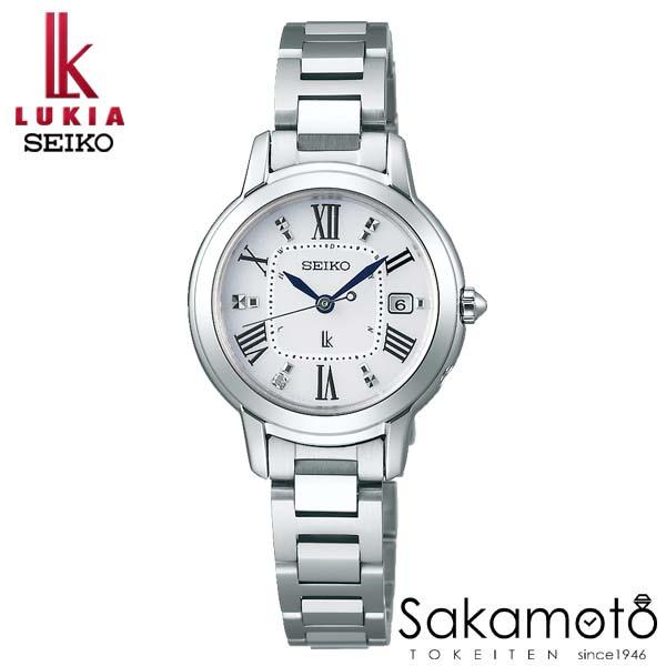 【スーパーSALEクーポンあり】国内正規品 SEIKO セイコー LUKIA ルキア ウォッチ 腕時計 ソーラー電波 女性用 婦人用 レディース【SSQW035】