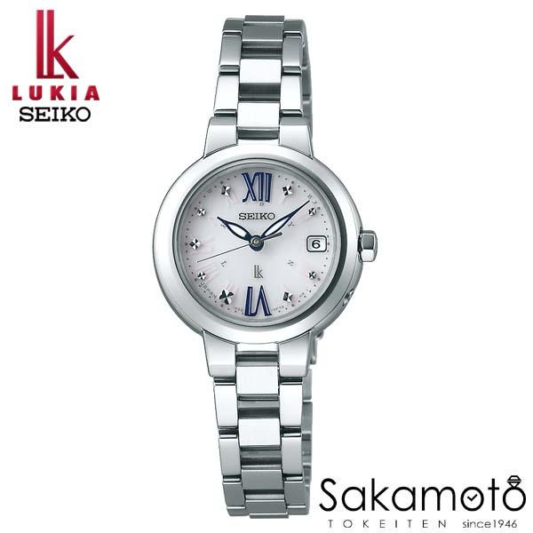 【スーパーSALEクーポンあり】国内正規品 SEIKO セイコー LUKIA ルキア ウォッチ 腕時計 ソーラー電波 女性用 婦人用 レディース【SSVW135】