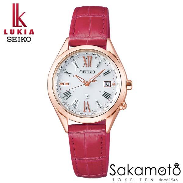 国内正規品 SEIKO セイコー LUKIA ルキア ウォッチ 腕時計 ラッキーパスポート ソーラー電波 女性用 婦人用 レディース【SSQV042】
