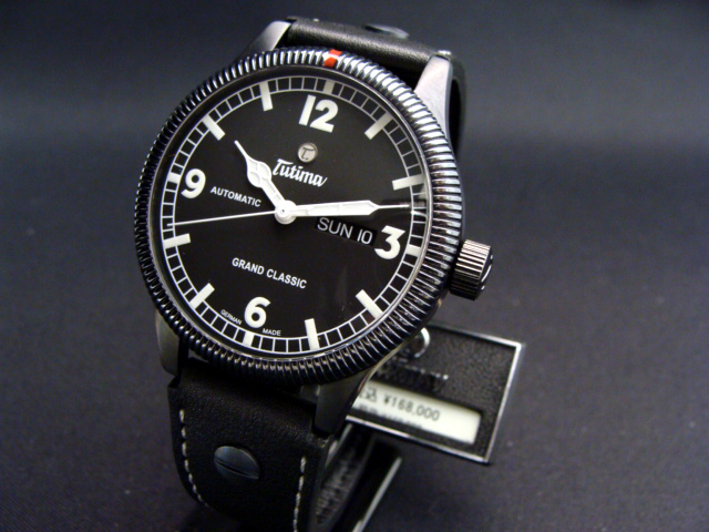 Regular article チュチマ TUTIMA ground classical music automatic PVD model leather strap