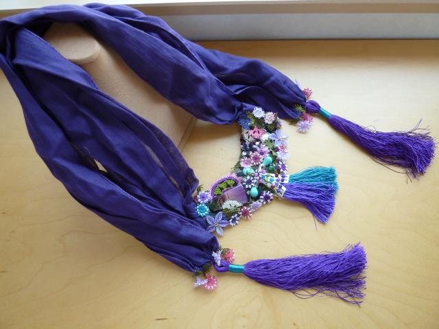 人気のトルコ雑貨送料無料 トルコエスニックのモダンアンティーク 伝統的な民族舞踊用 オヤOYA使いスペシャルスカーフ ロイヤルブルー RCP02P30May15u5lFT13JcK