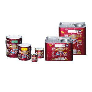 ASP545619 油性 こげ茶 10L アサヒペン 油性多用途塗料 スーパーコート