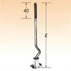 超人気 乾産業 床用ポリアンカー W3/8×250 入数:200, 東山区 02d1cb48