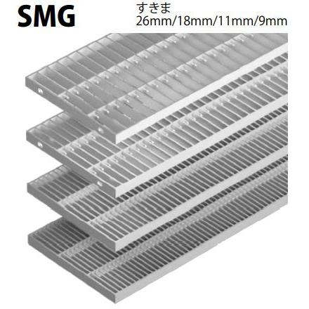 ステンレス製グレーチング カネソウ SUSグレーチング ファクトリーアウトレット プレーンタイプ横断溝 側溝用 本体のみ 送料別途お見積り 寸法:200×994×20 定番の人気シリーズPOINT(ポイント)入荷 注番:SMG-12020-P=22 すきま18mm