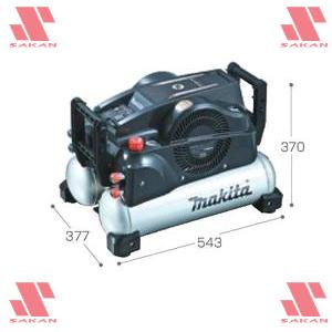 マキタ(makita) AC460XG エアコンプレッサ タンク容量16L 50/60Hz 共用 黒色【後払い不可】