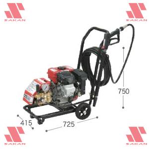 マキタ(makita) EHW102 4サイクルエンジン式 高圧洗浄機 126mL 吐出圧10MPa 清水専用【後払い不可】