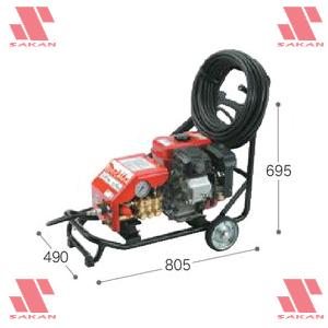 マキタ(makita) EHW152 4サイクルエンジン式 高圧洗浄機 211mL 吐出圧14.7MPa 清水専用【後払い不可】