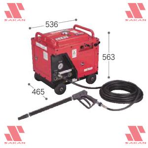 マキタ(makita) EHW153S 4サイクルエンジン式 高圧洗浄機 防音型 211mL 吐出圧14.7MPa 清水専用【後払い不可】