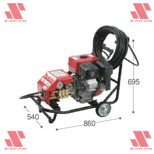 マキタ(makita) EHW201 4サイクルエンジン式 高圧洗浄機 265mL 吐出圧19.6MPa 清水専用【後払い不可】