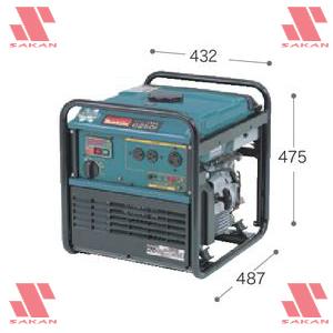 マキタ(makita) G250I インバータ発電機 (インバータ制御)【後払い不可】