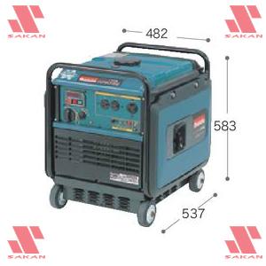 マキタ(makita) G2801SE インバータ発電機 (インバータ制御)【後払い不可】