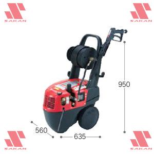 マキタ(makita) HW150 200V 電動式高圧洗浄機 吐出圧14.7MPa 清水専用【後払い不可】