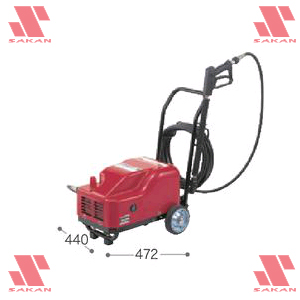 マキタ(makita) HW701 電動式高圧洗浄機 吐出圧7MPa 清水専用【後払い不可】